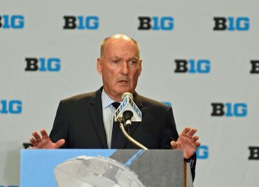 Jim Delany B1G Media Day