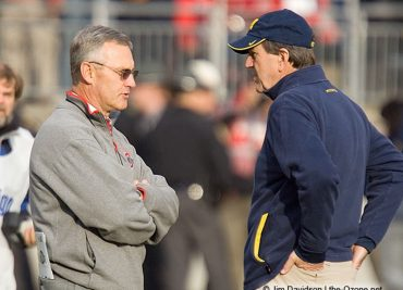 Jim Tressel and Lloyd Carr