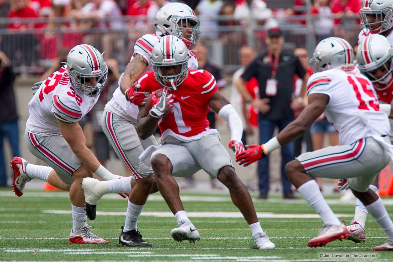 Buckeye Football Johnnie Dixon Spring Game Ohio State Football