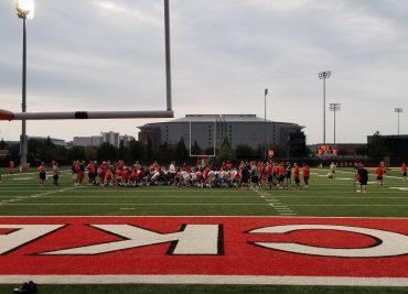 Ohio State Football 2017 Practice 1