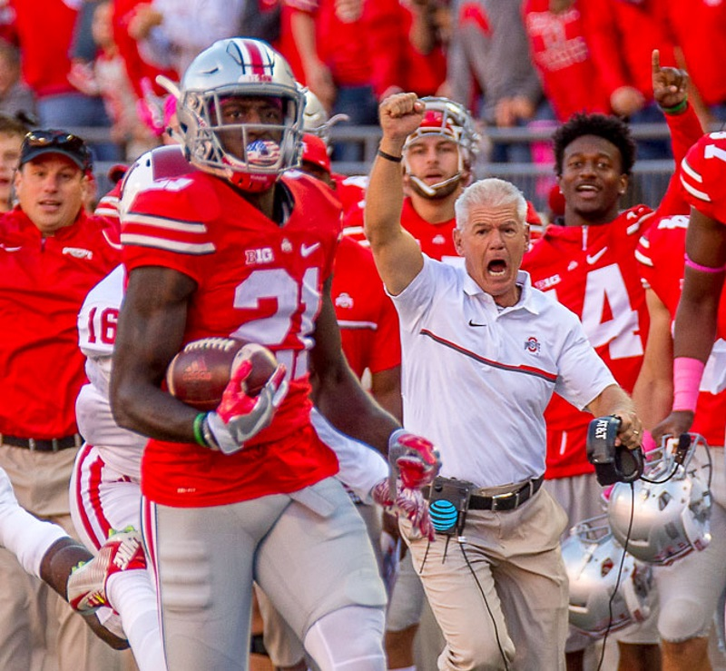 Parris Campbell Ohio State FootballParris Campbell Ohio State Football