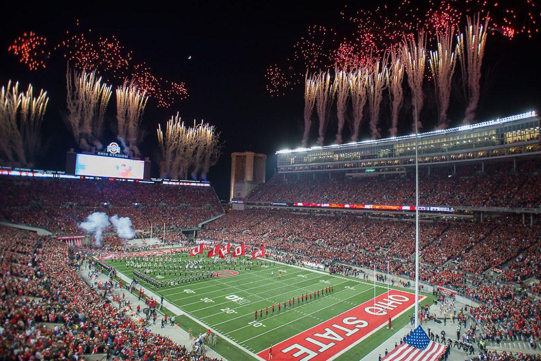Ohio Stadium Fireworks