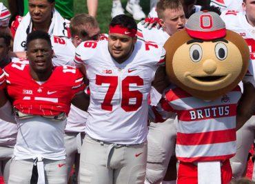 Branden Bowen Spring Game Ohio State