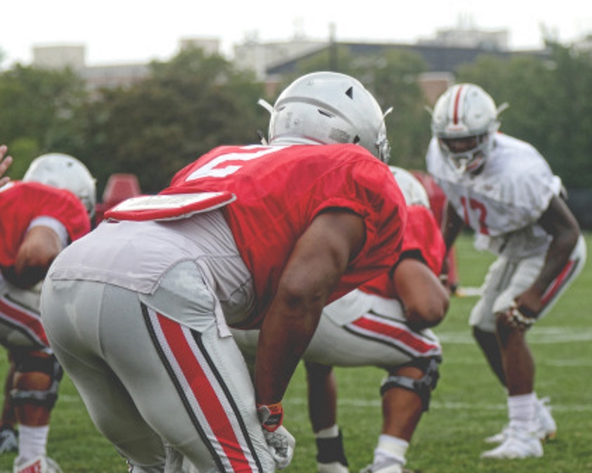 J.K. Dobbins Fall Camp Ohio State
