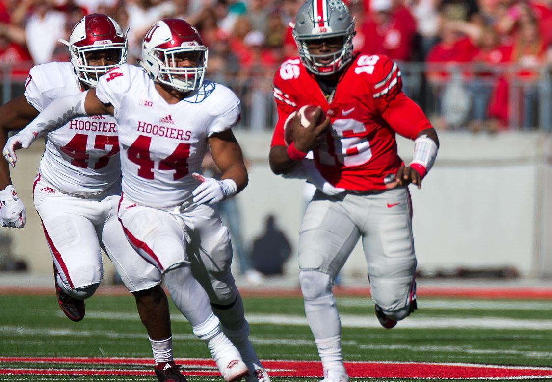 J.T. Barrett Ohio State Football vs Indiana
