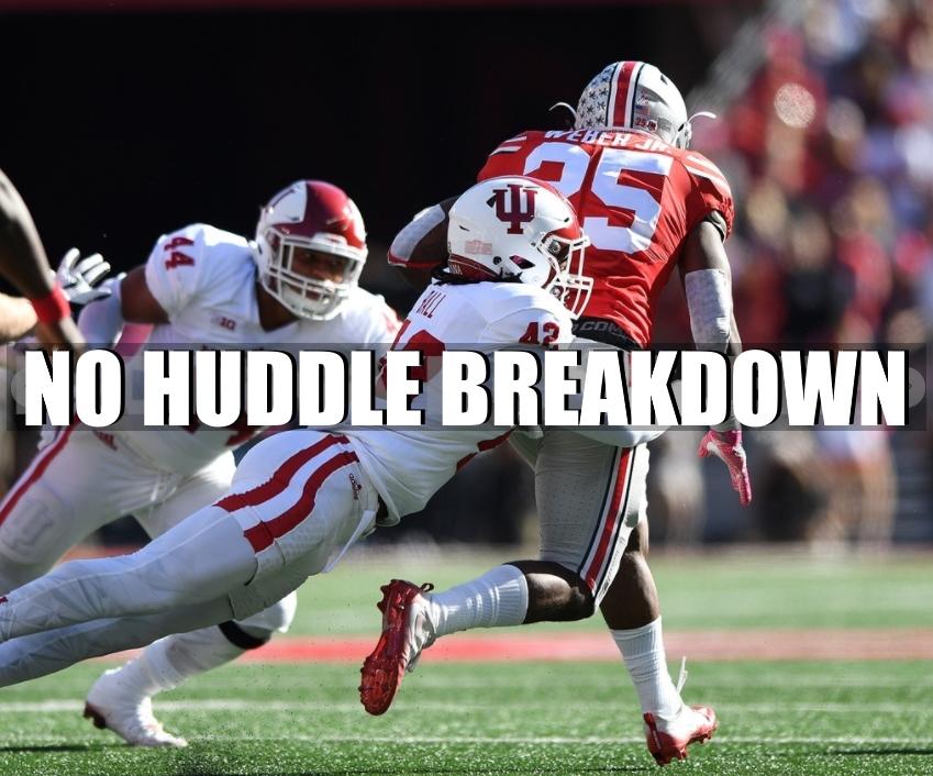 No Huddle Breakdown Indiana Ohio State