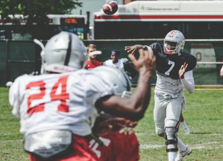 Ohio State Fall Practice 2 2017