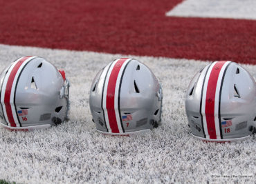 Ohio State Helmets Before Indiana