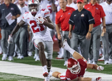 Parris Campbell at Indiana 2017 2 Ohio State Football Buckeyes