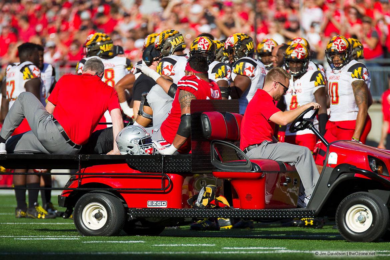 Branden Bowen Ohio State Football Cart