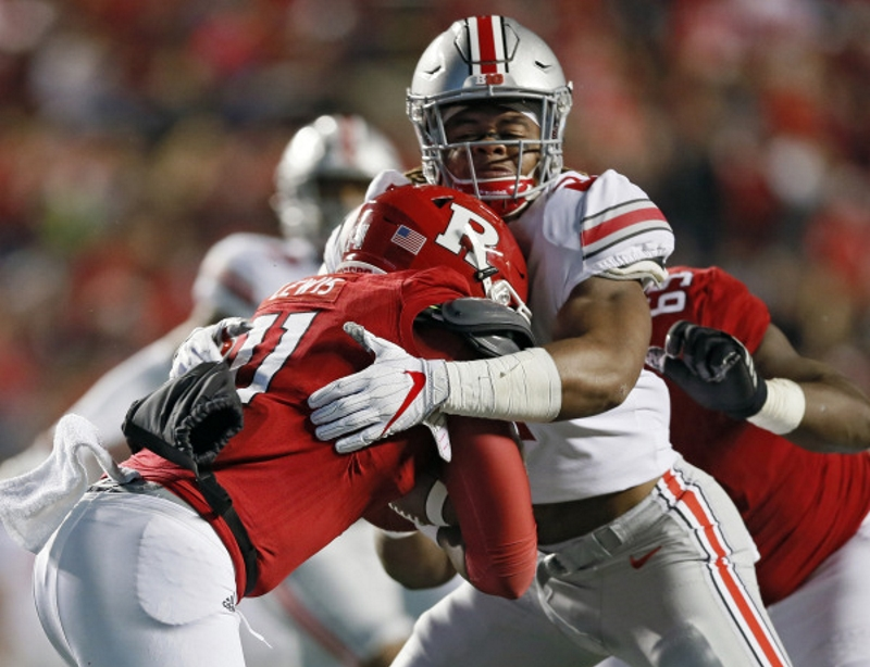Chase Young Ohio State Football Buckeyes