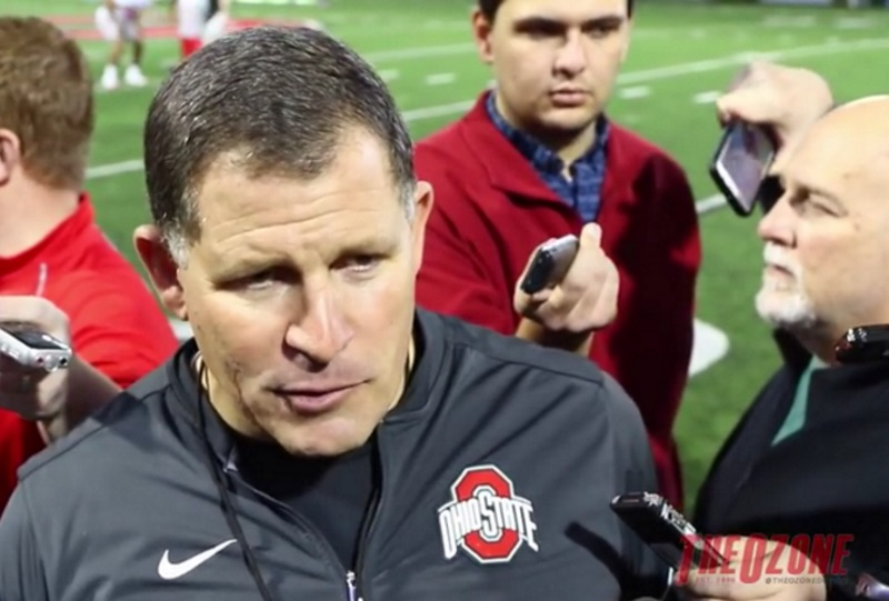 Greg Schiano Ohio State Football Buckeyes
