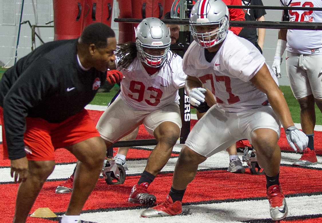 Michael Hill Tracy Sprinkle Ohio State Football Buckeyes
