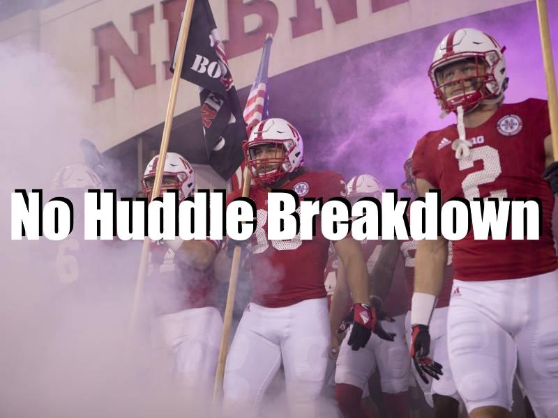 No Huddle Breakdown Ohio State Nebraska