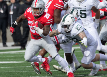 Mike Weber Michigan State Football Ohio State Football Buckeyes