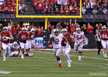 J.K. Dobbins Wisconsin Big Ten Football Championship Game Ohio State Football Buckeyes