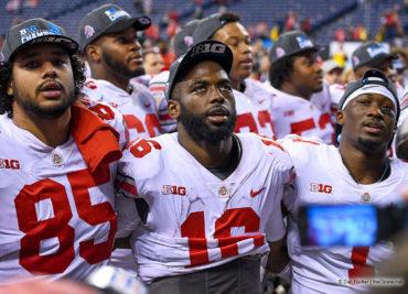 J.T. Barrett, Marcus Baugh Ohio State Football Buckeyes NFL Draft
