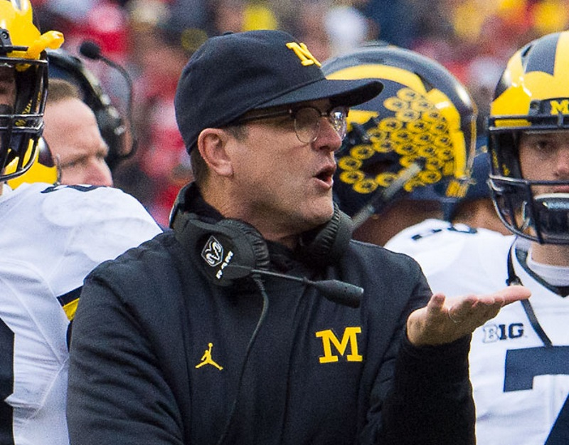 Jim Harbaugh Big Ten Football