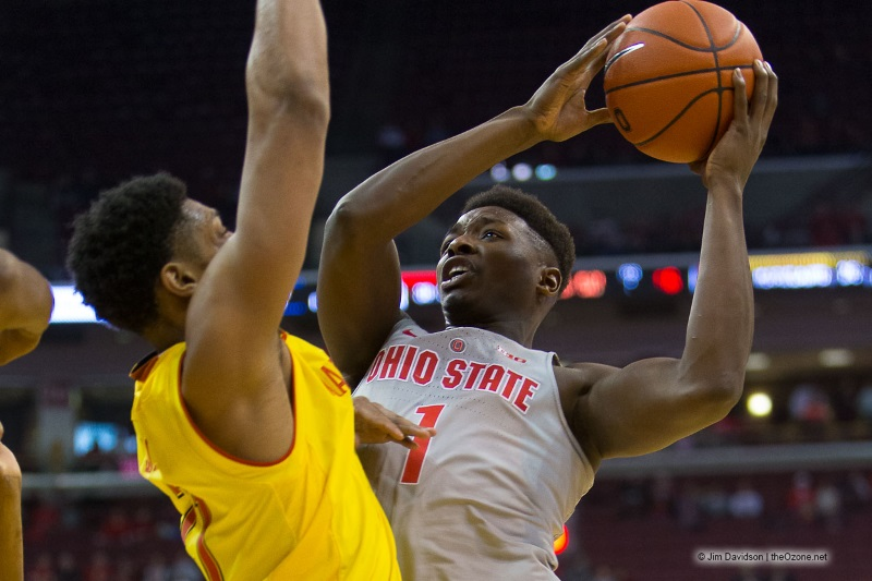 Jae'Sean Tate Ohio State Basketball