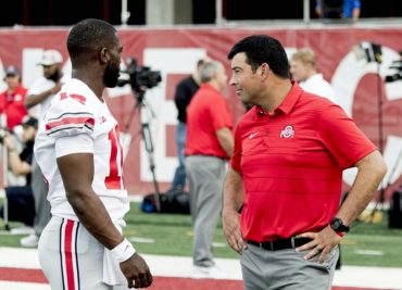 Ryan Day, J.T. Barrett Ohio State Buckeyes
