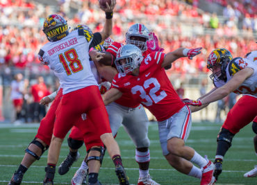 Ohio State Football Buckeyes Tuf Borland Linebacker