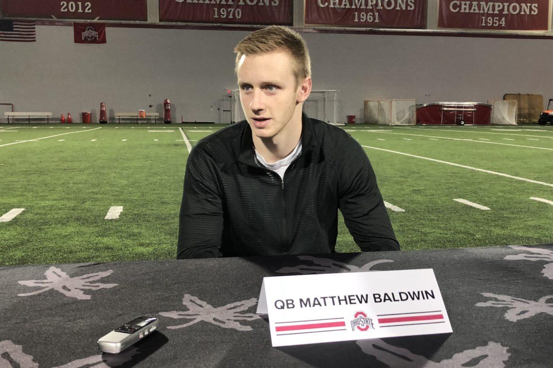 Matthew Baldwin Ohio State Football Buckeyes