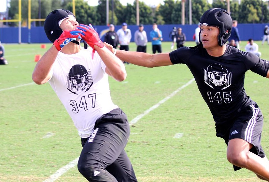Top 100 Ca Receiver Mycah Pittman Includes Ohio State In Top 5