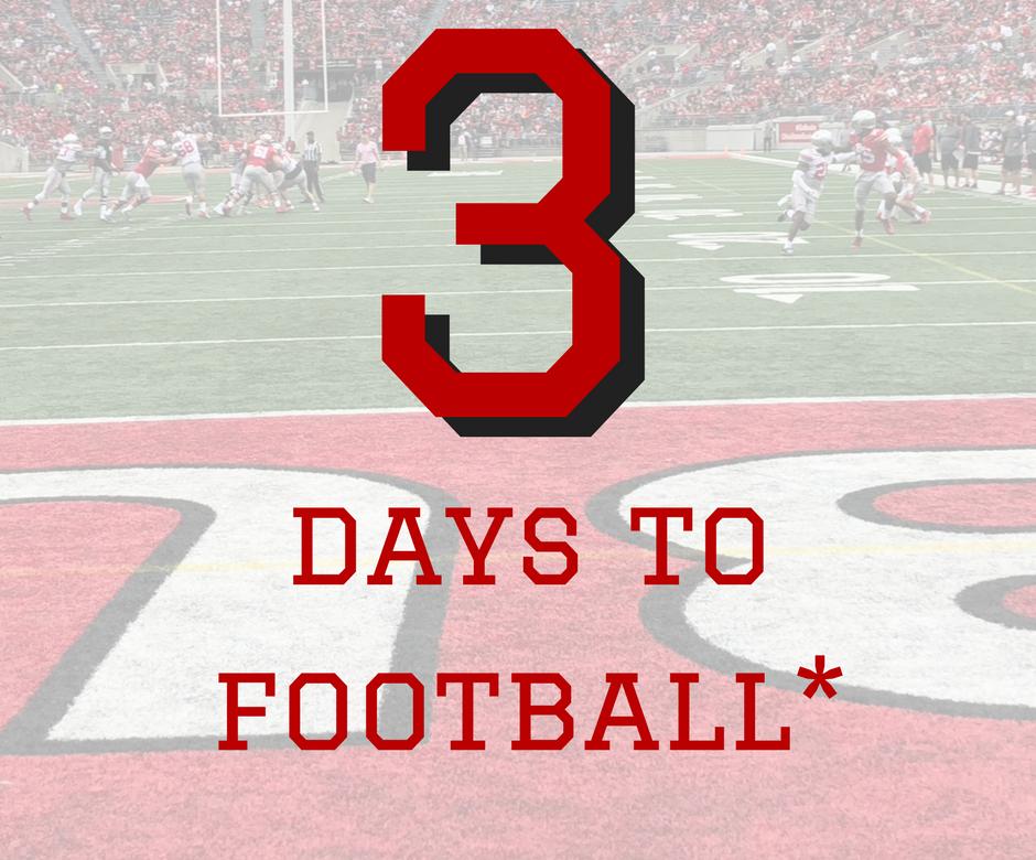 Three Days To Ohio State Football The Ozone
