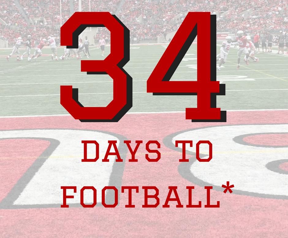34 Days to Ohio State Football Buckeyes