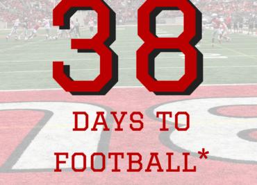 38 Days to Ohio State Football Buckeyes