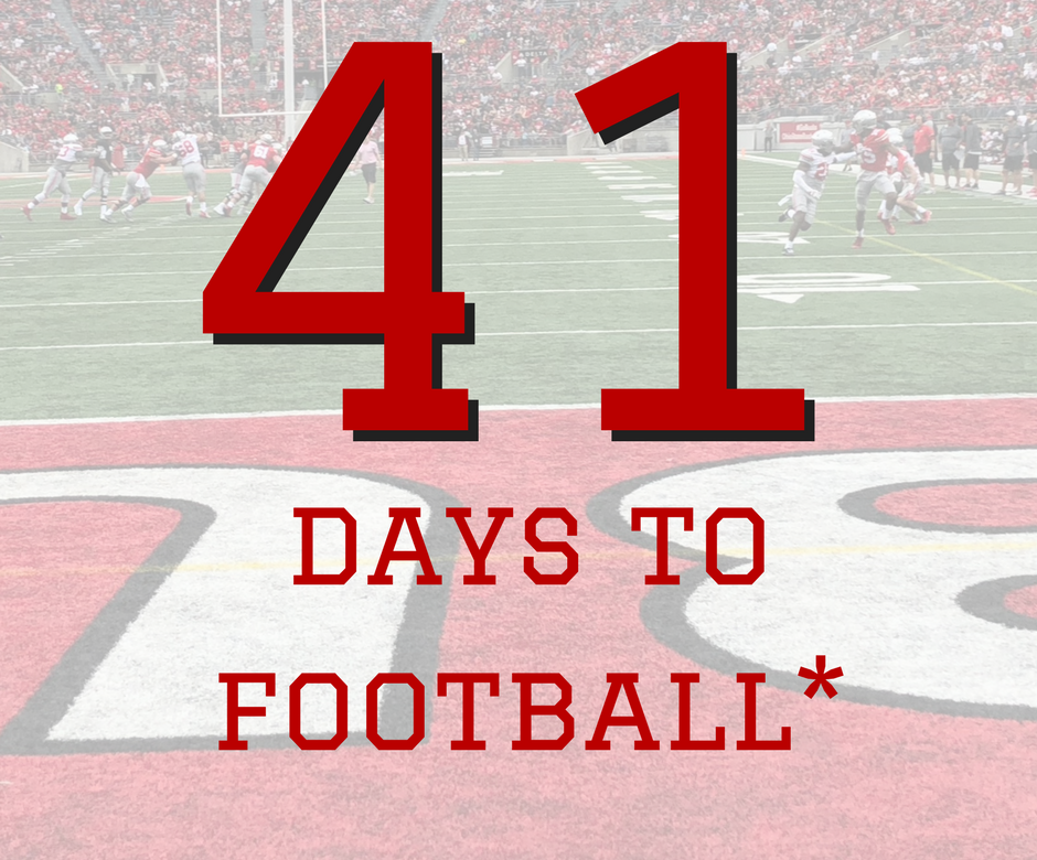 41 Days to Ohio State Football Buckeyes