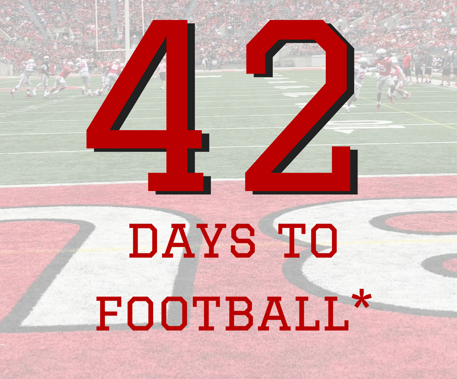 42 Days to Ohio State Football Buckeyes