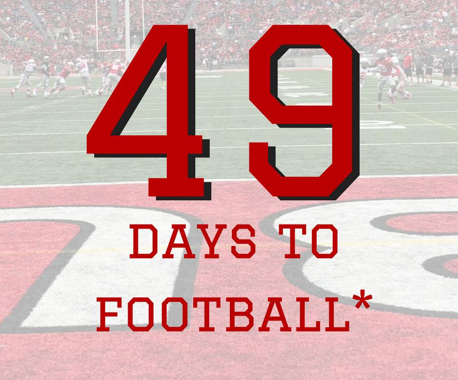 49 Days to Ohio State Football Buckeyes