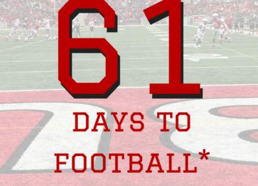 61 Days to Ohio State Football Buckeyes