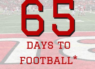 65 Days to Ohio State Football Buckeyes