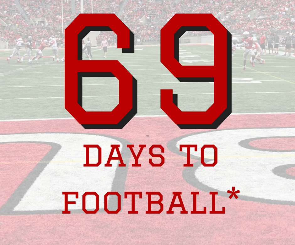 69 Nice Days to Ohio State Football Buckeyes