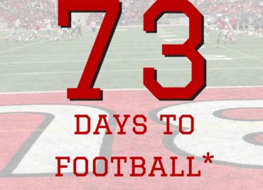 73 Days to Ohio State Football Buckeyes