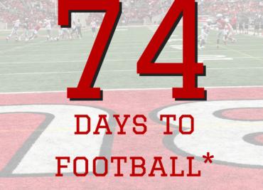 74 Days to Ohio State Football Buckeyes