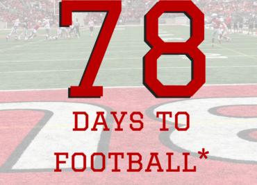 78 Days to Football Ohio State Football Buckeyes
