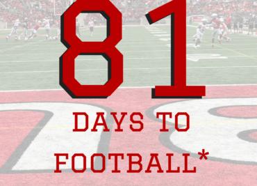 81 Days to Ohio State Football Buckeyes