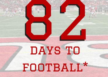 82 Days to Ohio State Football Buckeyes