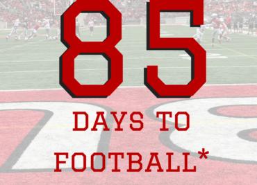 85 Days Ohio State Football Buckeyes