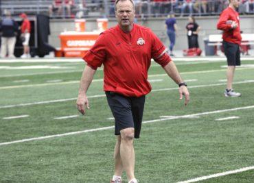 Bill Davis Ohio State Linebacker Coach Buckeyes Football