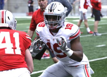Linebacker Dallas Gant Ohio State Football Buckeyes