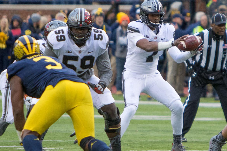 Isaiah Prince, Dwayne Haskins Ohio State Football Buckeyes Big Ten Football
