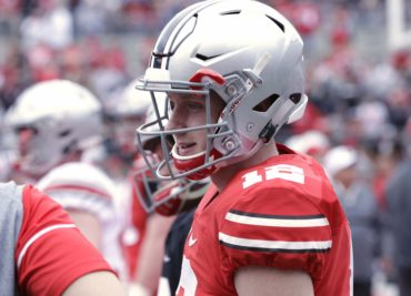 Ohio State football quarterback Matthew Baldwin from Lake Travis Texas