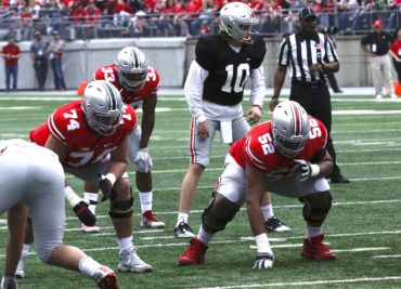 Ohio State Football Buckeyes Offensive Line