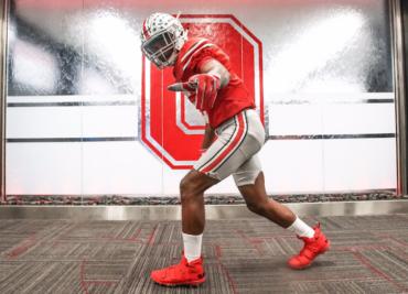 Garrett Wilson Ohio State wide receiver recruit 2019