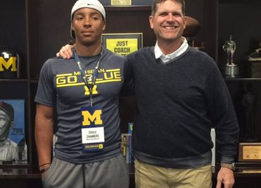 Jim Harbaugh Steele Chambers Ohio State Football Recruiting Buckeye Football