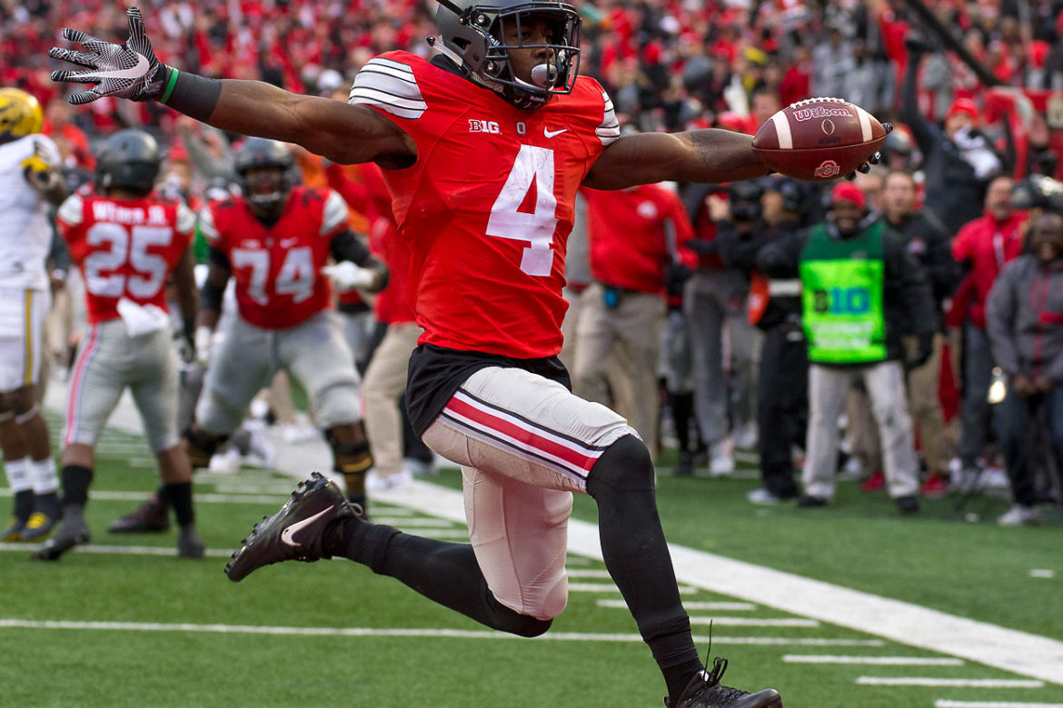 Ohio State Football Curtis Samuel 2016 Michigan Touchdown
